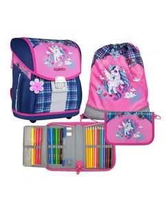 Ранец школьный с наполнением Evo Light Unicorn Magtaller