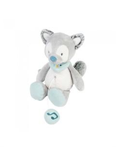 Мягкая игрушка Musical Soft toy Mini Tim Tiloo Волк музыкальная 22 см Nattou