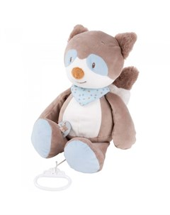 Мягкая игрушка Musical Soft toy Jim Bob Енот музыкальная 21 см Nattou