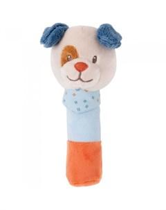 Мягкая игрушка Cri Cris Jim Bob Собачка 20 см Nattou