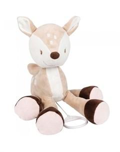 Мягкая игрушка Musical Soft toy Fanny Oscar Оленёнок музыкальная 29 см Nattou