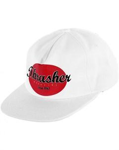 Кепка Oval Snapback White 2020 Thrasher