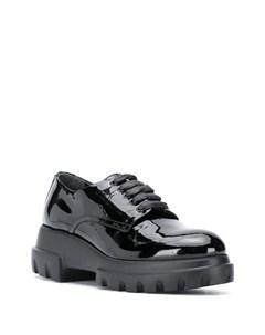 Массивные туфли на шнуровке Agl