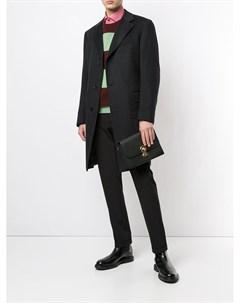 Однобортное пальто Stefano ricci