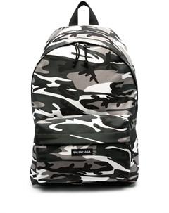 Рюкзак Explorer с камуфляжным принтом Balenciaga