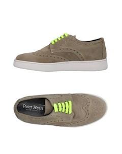 Низкие кеды и кроссовки Peter heart