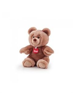 Мягкая игрушка медведь Брандо 18x23x14 см Trudi