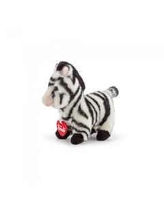 Мягкая игрушка Зебра 8x16x18 см Trudi