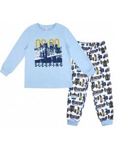 Пижама для мальчика джемпер брюки Морфей 356К 171 Bossa nova