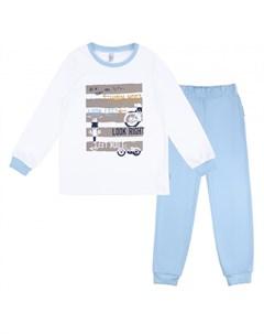 Пижама для мальчика джемпер брюки Морфей 356К 161 Б Bossa nova