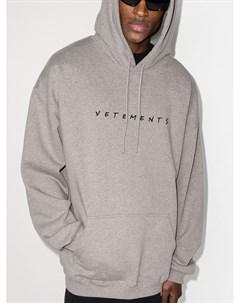 Худи Friendly с логотипом Vetements