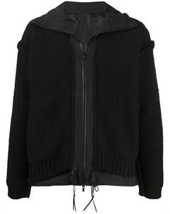 Многослойная куртка с капюшоном The viridi-anne