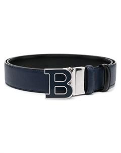 Ремень с пряжкой логотипом B Bally
