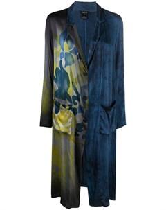 Длинное пальто с цветочным принтом Avant toi