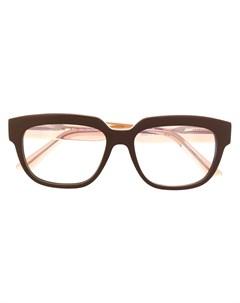 Очки в двух тонах Marni eyewear
