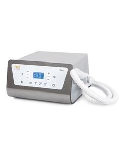 Аппарат педикюрный с пылесосом и подсветкой серый 30000 оборотов в минуту Flex Feetliner