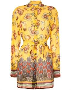 Блузка Foley с цветочным принтом Alexis