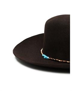 Фетровая шляпа из коллаборации с Casamarina Lab Super duper hats
