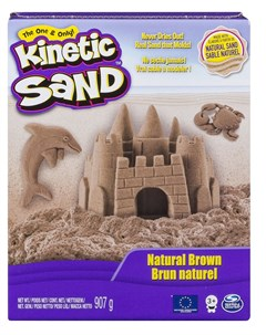 Набор для лепки Kinetic Sand Кинетический песок натуральный 907гр Spin master