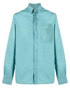 Рубашка с длинными рукавами и накладным карманом Officine generale