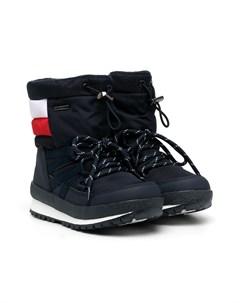 Зимние ботинки с полосками Tommy hilfiger junior