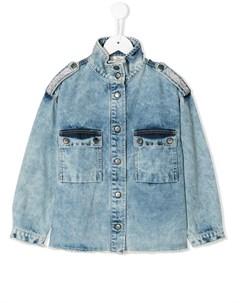 Декорированная джинсовая рубашка Andorine