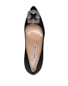 Туфли Hangisi с кристаллами Manolo blahnik