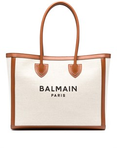 Сумка шопер с логотипом Balmain