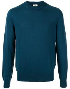 Пуловер с вышитым логотипом Kent & curwen