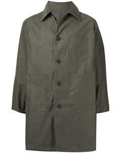 Однобортное пальто Washed Worker Sophnet.