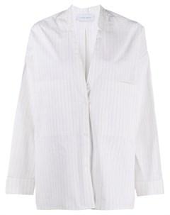 Рубашка оверсайз с V образным вырезом Christian wijnants