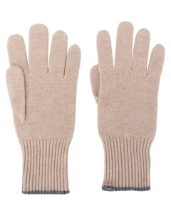 Перчатки тонкой вязки Brunello cucinelli