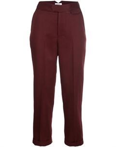 Укороченные зауженные брюки Nomia
