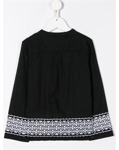 Рубашка Sbieco с вышивкой Douuod kids