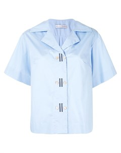 Двубортная рубашка с короткими рукавами Palmer / harding