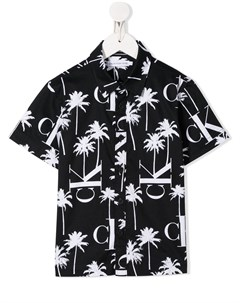 Рубашка с принтом Calvin klein kids