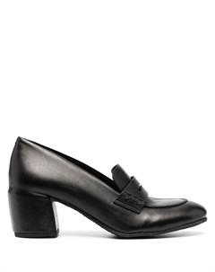 Туфли лодочки на блочном каблуке Del carlo