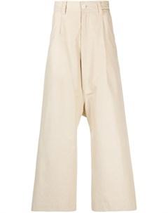 Расклешенные брюки широкого кроя Sunnei