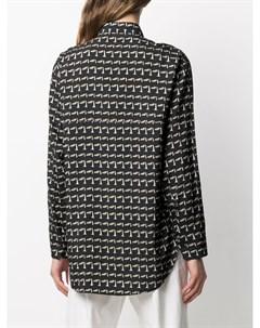 Рубашка Tessa с абстрактным принтом Christian wijnants