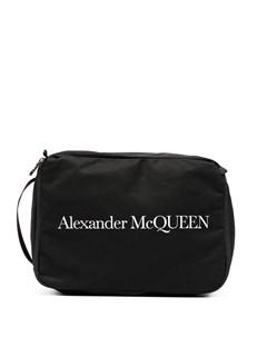Несессер с логотипом Alexander mcqueen
