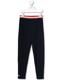 Спортивные брюки с нашивкой логотипом Lacoste kids