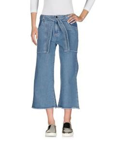 Джинсовые брюки капри Victoria victoria beckham