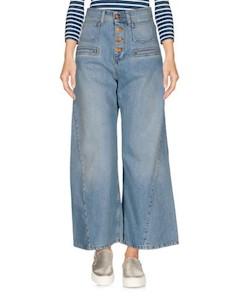 Джинсовые брюки капри Rodebjer