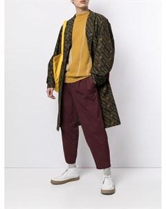Пальто с монограммой Kolor