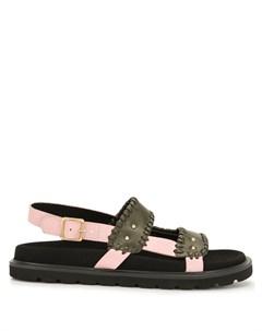 Двухцветные сандалии Reike nen