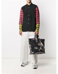 Сумка тоут с абстрактным принтом Comme des garçons shirt