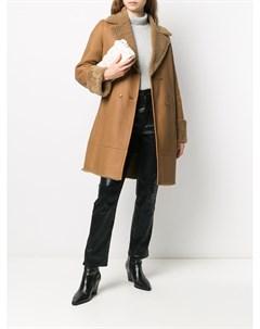 Пальто с подкладкой из овчины Inès & maréchal