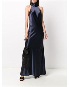 Атласное платье Sienna Galvan