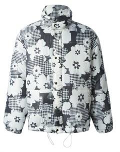 Дутая куртка с цветочным узором Christopher shannon