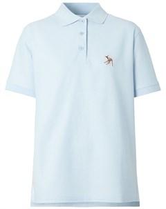 Рубашка поло с вышивкой Burberry